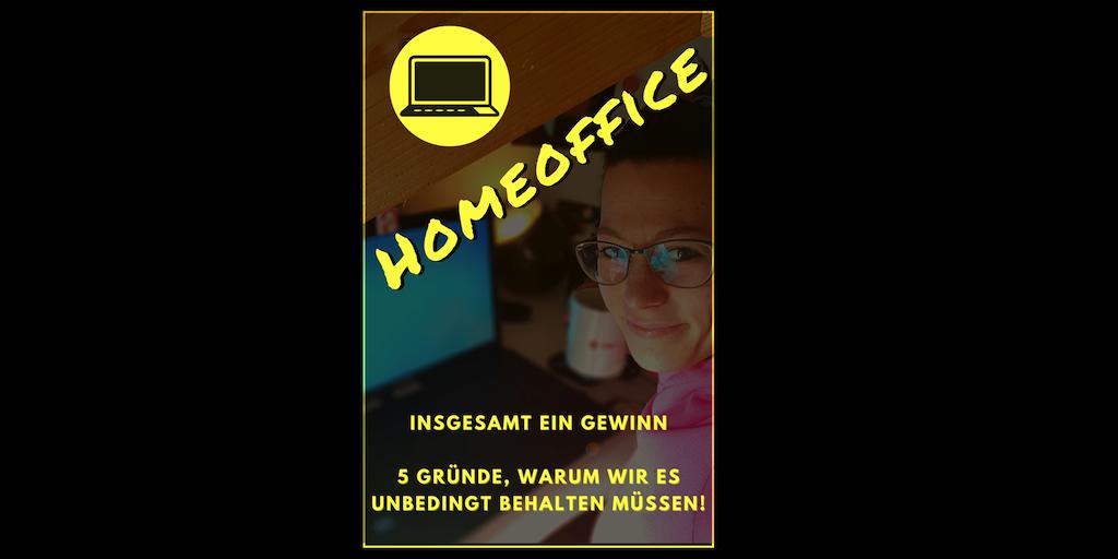 Read more about the article Homeoffice – insgesamt ein Gewinn