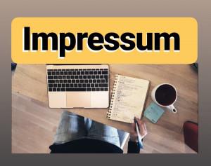 Impressum HRliebtdich Blog