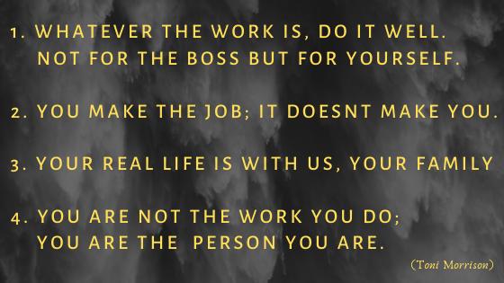Identifizierst du dich mit deinem Job? 1