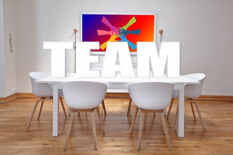 homeoffice virtuelles team teamwork